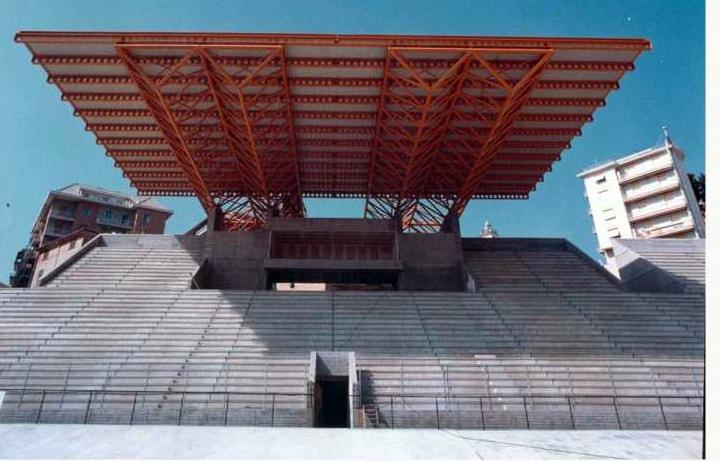 Stadio Carlini, Corso Europa, Genova