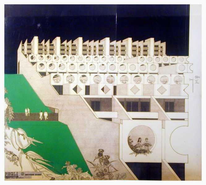 """Lavatrici. Immagine tratta da """"Aldo luigi rizzo, percorsi di architettura"""", Costa e Nolan, 1986"""