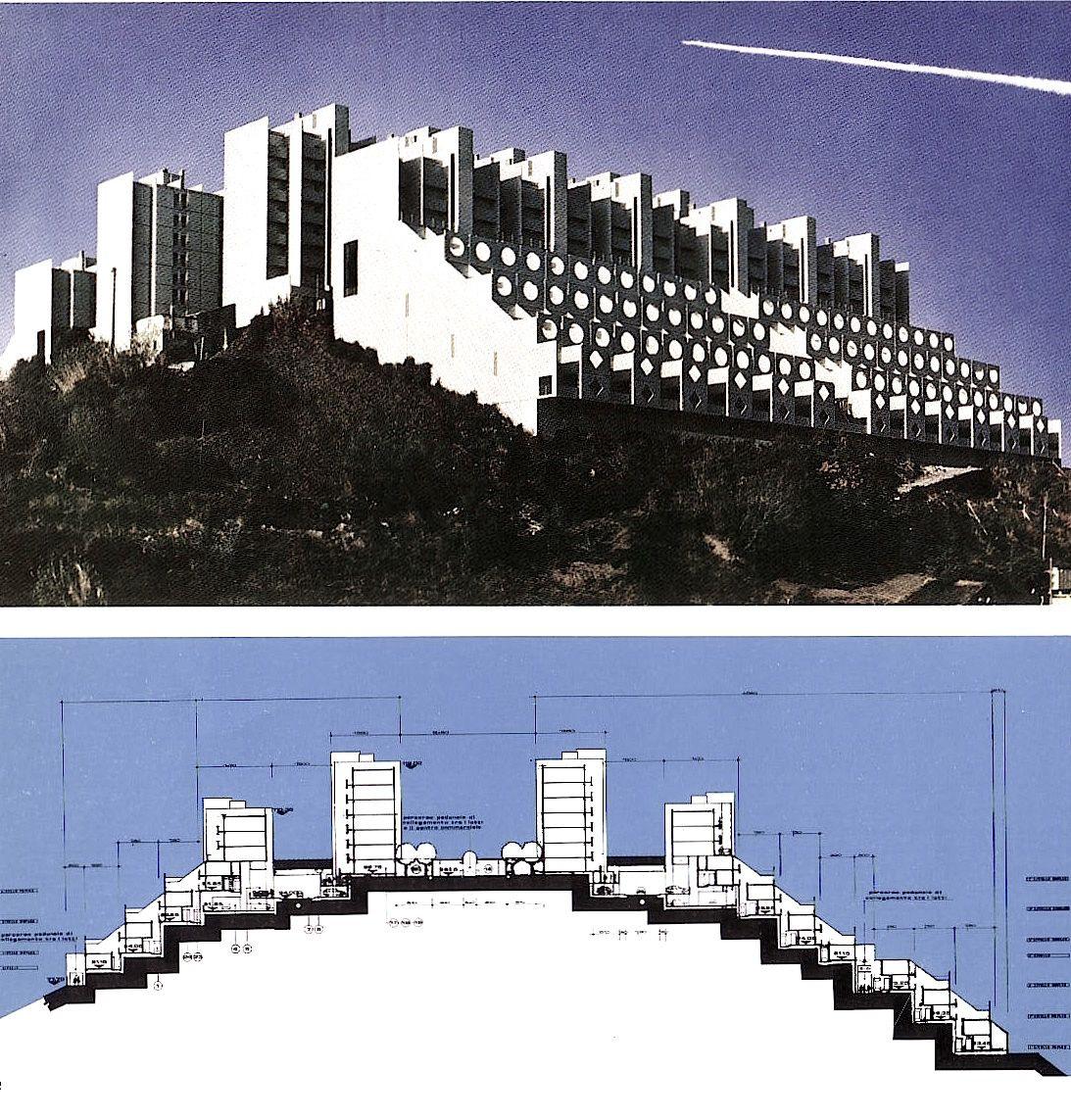 """Immagini tratte da """"Aldo luigi rizzo, percorsi di architettura"""", Costa e Nolan, 1986"""